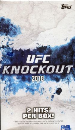 UFC 2018 -  TOPPS UFC KNOCKOUT (P10/B4)