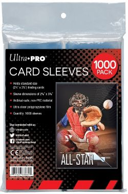 ULTRA PRO -  1000 CARD SLEEVES ***LIMIT OF ONE (1) PER CUSTOMER***
