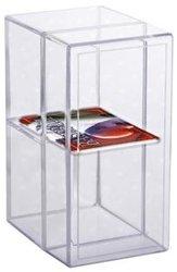 ULTRA PRO -  2 COMPARTMENT PLASTIC BOX