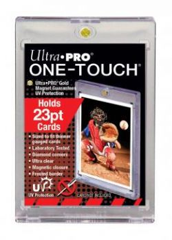 ULTRA PRO -  23PT UV ONE-TOUCH MAGNETIC HOLDER ***LIMIT OF TEN (10) PER CUSTOMER***