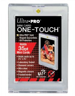 ULTRA PRO -  ONE-TOUCH MAGNETIC CLOSURE FOR MINI CARD 2 1/2