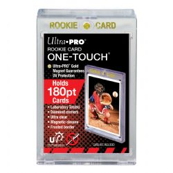 ULTRA PRO -  ROOKIE CARD ONE-TOUCH MAGNETIC CLOSURE (UP TO 180PT CARD) ***LIMIT OF TEN (10) PER CUSTOMER***