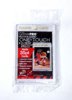 ULTRA PRO -  ROOKIE CARD ONE-TOUCH MAGNETIC CLOSURE (UP TO 35PT CARD) ***LIMIT OF 10 PER CUSTOMER***