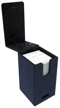ULTRA PRO -  SUEDE COLLECTION ALCOVE TOWER - SAPPHIRE (100)