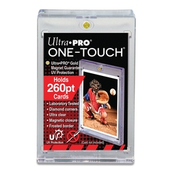 ULTRA PRO -  THICK ONE-TOUCH MAGNETIC CLOSURE (UP TO 260PT CARD) ***LIMIT OF TEN (10) PER CUSTOMER***