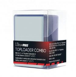 ULTRA PRO -  TOPLOADER COMBO ***LIMIT OF 5 PER CUSTOMER***