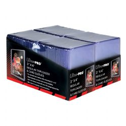 ULTRA PRO -  TOPLOADS 3X4 REGULAR WITH SLEEVES (200 TOPLOADERS & SLEEVES)  ***LIMIT OF 1 PER CLIENT***