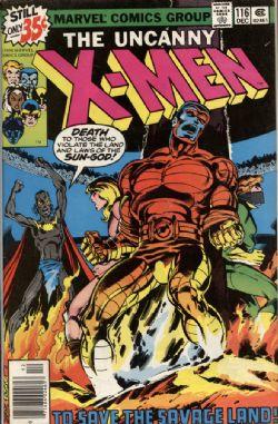 UNCANNY X-MEN -  UNCANNY X-MEN (1978) - VERY FINE - 8.0 116