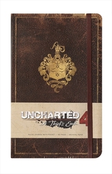 UNCHARTED -  A THIEF'S END - HARDCOVER RULED JOURNAL (192 PAGES)