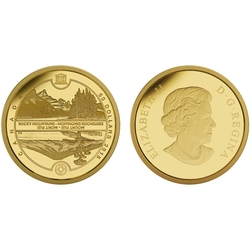 UNESCO AT HOME AND ABROAD -  MOUNT FUJI AND CANADIAN ROCKIES -  2015 CANADIAN COINS 01