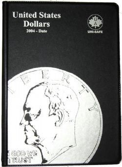 UNI-SAFE ALBUMS -  BLACK ALBUM FOR UNITED STATES DOLLARS (2004-DATE)