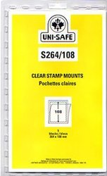 UNI-SAFE -  CLEAR STAMP MOUNTS S264/108 (PACK OF 5)