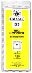 UNI-SAFE -  CLEAR STAMP MOUNTS S57 (PACK OF 10)