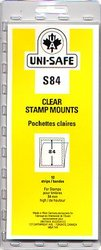 UNI-SAFE -  CLEAR STAMP MOUNTS S84 (PACK OF 10)
