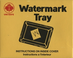 UNI-SAFE -  WATERMARK TRAY