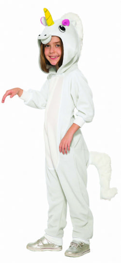 UNICORN -  WHITE UNICORN COSTUME (CHILD)