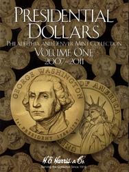 UNITED STATES -  2007-2011 PRESIDENTIAL DOLLARS FOLDER 01