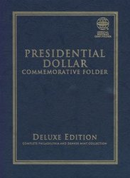 UNITED STATES -  2007-2016 PRESIDENTIEL DOLLAR FOLDER (P AND D)
