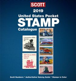 UNITED STATES -  2019 UNITED STATES SCOTT POCKET STAMP CATALOGUE