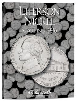 UNITED STATES -  FOLDER FOR UNITED STATES JEFFERSON NICKELS (VOL.3: 1996-DATE) 03