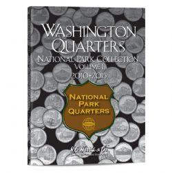UNITED STATES -  FOLDER FOR UNITED STATES NATIONAL PARK QUARTERS (VOL.1: 2010-2015) 01