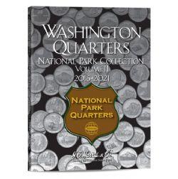 UNITED STATES -  FOLDER FOR UNITED STATES NATIONAL PARK QUARTERS (VOL.2: 2016-2021) 02