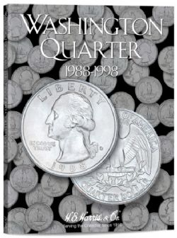 UNITED STATES -  FOLDER FOR UNITED STATES WASHINGTON QUARTERS (VOL.4: 1988-1998) 04