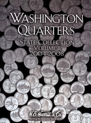 UNITED STATES -  HARRIS US QUARTER BOOKLET VOL.2 2004-2008 02