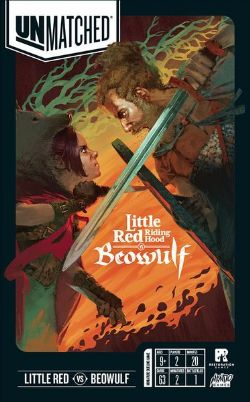 UNMATCHED -  LITTLE RED RIDING HOOD VS BEOWULF (ENGLISH)