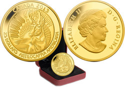 UNTAMED CANADA -  PRONGHORN -  2013 CANADIAN COINS 02
