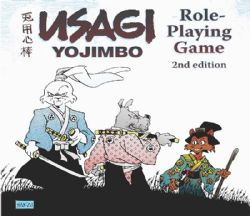 USAGI YOJIMBO ROLE PLAYING GAME -  SECOND EDITION