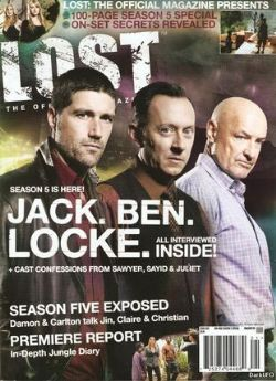 USED MAGAZINES - BUNDLE 3 - LOST : THE OFFICIAL MAGAZINE (ENGLISH)