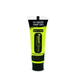 UV MAKE UP -  NEON HAIR GEL - YELLOW
