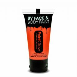 UV MAKE UP -  UV FACE & BODY PAINT - NEON ORANGE (50 ML)