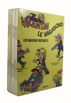 VALENTIN LE VAGABOND -  USED BOOKS - BUNDLE TOMES 1 TO 7 (FRENCH)