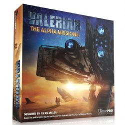 VALERIAN -  THE ALPHA MISSIONS - THE BOARD GAME (ENLGISH)