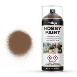 VALLEJO PAINT -  BEASTY BROWN -  HOBBY SPRAY PAINT 28019