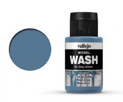 VALLEJO PAINT -  BLUE GREY -  MODEL WASH 76524