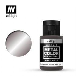 VALLEJO PAINT -  BURNT IRON -  METAL COLOR 77721