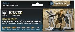 VALLEJO PAINT -  CHAMPIONS OF THE REALM -  WIZKIDS PREMIUM PAINTS