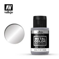 VALLEJO PAINT -  CHROME -  METAL COLOR 77707