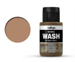 VALLEJO PAINT -  DARK BROWN -  MODEL WASH 76514