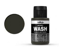 VALLEJO PAINT -  DARK GREY -  MODEL WASH 76517