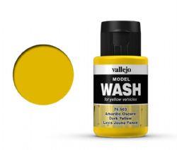 VALLEJO PAINT -  DARK YELLOW -  MODEL WASH 76503