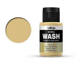 VALLEJO PAINT -  DESERT DUST -  MODEL WASH 76522
