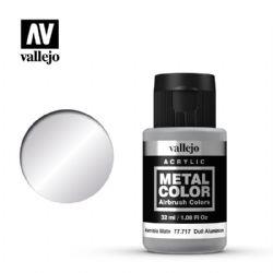 VALLEJO PAINT -  DULL ALUMINIUM -  METAL COLOR 77717