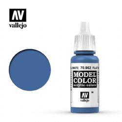VALLEJO PAINT -  FLAT BLUE -  MODEL COLOR 70962