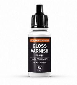 VALLEJO PAINT -  GLOSS VARNISH -  VARNISH 70510