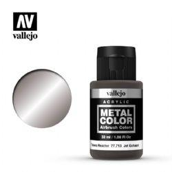 VALLEJO PAINT -  JET EXHAUST -  METAL COLOR 77713