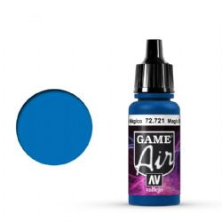 VALLEJO PAINT -  MAGIC BLUE -  GAME AIR 72721
